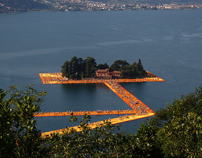 Floating Piers 2016
