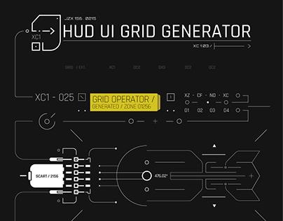 HUD UI Grid Generator