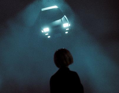 UFO STOLE MY RIDE
