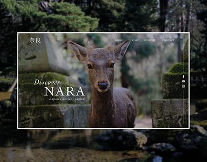 UI / Homepage City of Nara