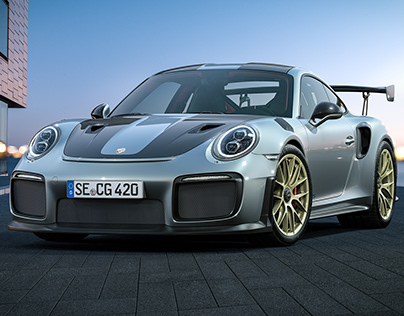 Porsche GT 2 RS // CGI