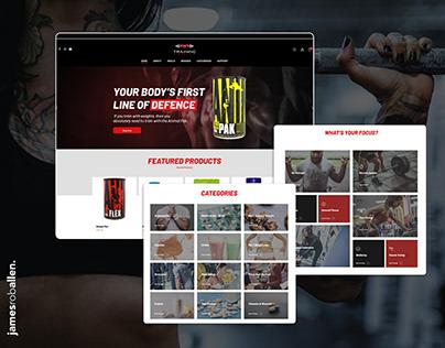 Training Fuels eCommerce Website