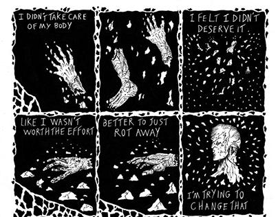 untitled comic for 24 panels anthology