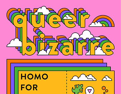 Queer Bizarre: Homo For The Holigays Poster