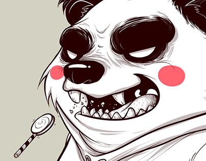 Illustration The Bear Squad - Panda