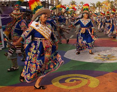 Arica Carnaval Andino 2020 (Tinkus)