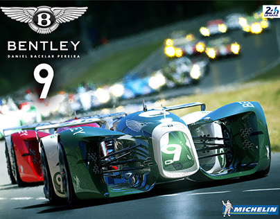 Bentley 9 + Michelin BatterySlick