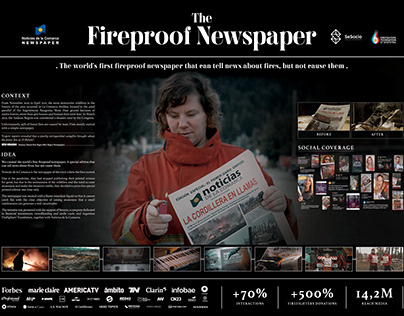 Fireproof Newspaper