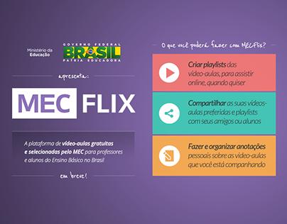 MECFlix - Plataforma de videoaulas do MEC