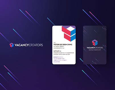 VacancyCreators Logo & Card