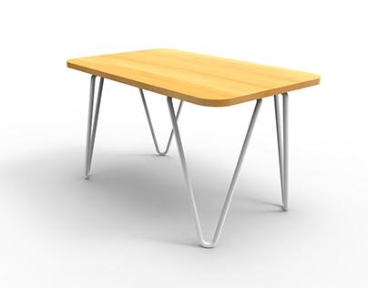"""""""V"""" Coffee Table"""