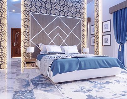 Bed Room Interior Design By Wahab Ahmad