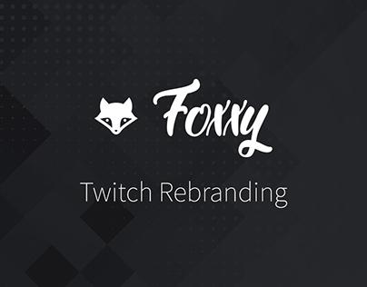 """Rebrand """"itsfoxxy_"""" Twitch"""