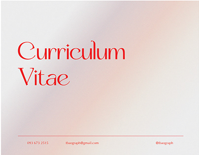 CV Design 2021