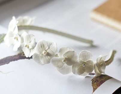Wedding flowers accessories for hair