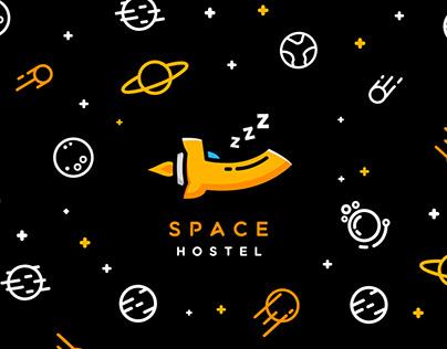 """Space Hostel"" | Branding design"