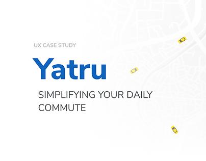 Yatru - UX Case Study
