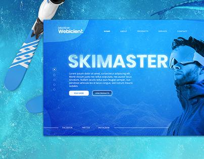 Webicient - SKIMASTER WEBSITE DESIGN