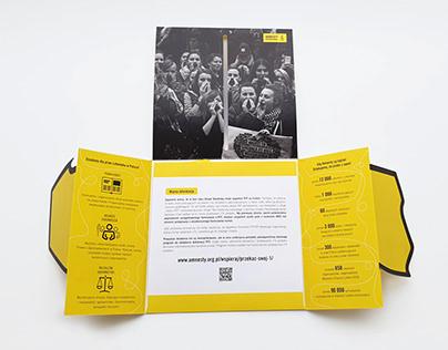 Amnesty International Selfmailer