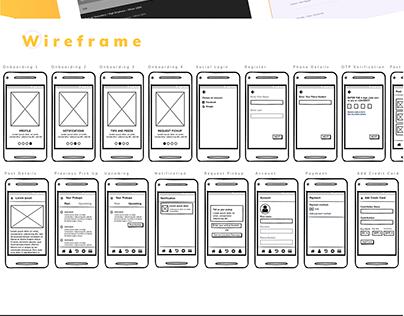UX/UI Design for Throwayng