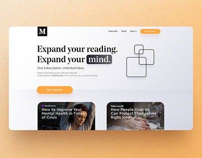 Landing Pages & Functional Graphic Design