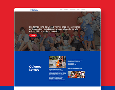 Website - Comedor Madres de San Lorenzo