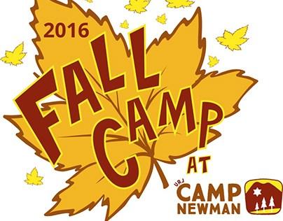 URJ Camp Newman 2016 Fall Camp T-Shirt