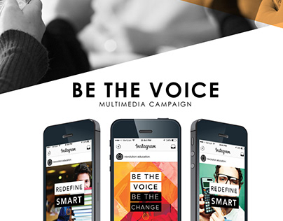 Be the Voice: Marketing Campaign