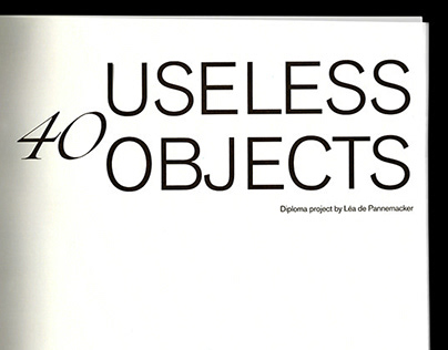 40 Useless Objects - The Whispers Project