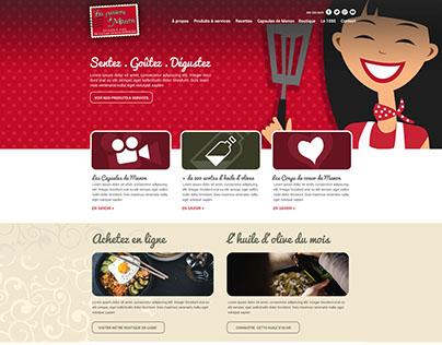 Web Design | Passions de Manon