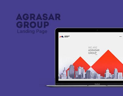 Agrasar Group Website design