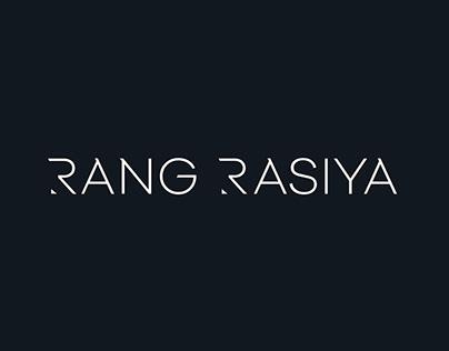 Rang Rasiya Corporate Indentity Design