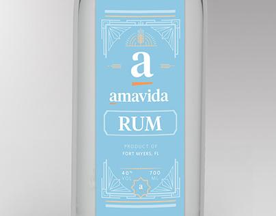 Amavida Liquor Labels