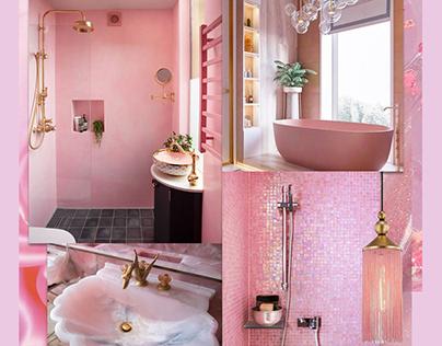 Barbie Pink Bathroom