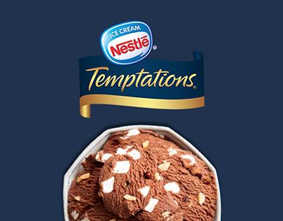 Nestlé Temptations Rocky Road Print Material