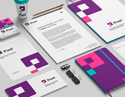 Pixel | Visual identity