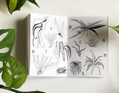 Plantae •⚘• Interactive Workbook Zine