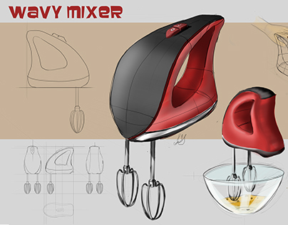 Wavy Mixer Concept Design