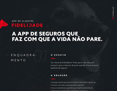 Fidelidade - App de clientes