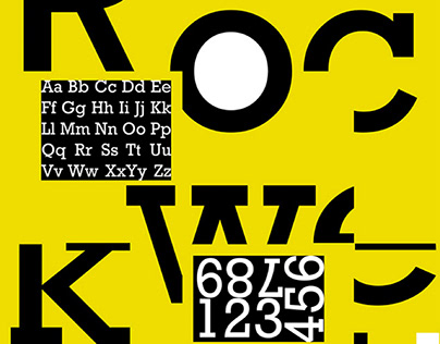 Rockwell font   Typography