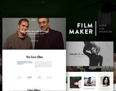 FilmMaker WordPress Theme - Beautheme