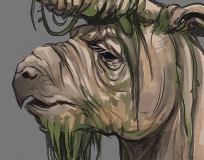 Creature Design - Monokeros