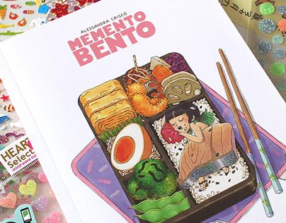 MEMENTO BENTO - Illustrated Japan travel diary