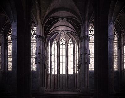 Apse of St-Nazaire, Carcassonne