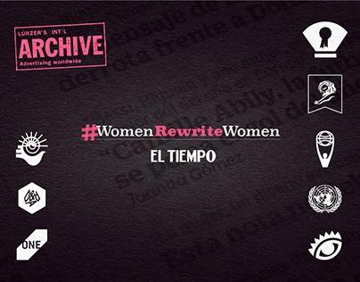 #WomenRewriteWomen - El Tiempo