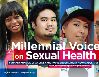 Millennial Voices on Sexual Health - Pamphlet