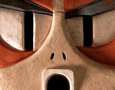 Power and Magic (ceramic totem)