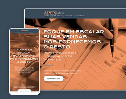 Landing Page - APEX SUPPLY