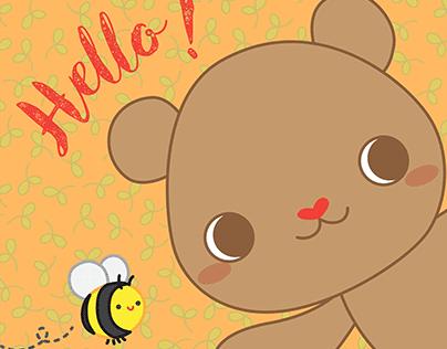 BEE HAPPY Little Bear