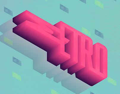 Metro type - Animation